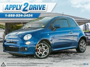 2013 FIAT 500 Sport Loaded Leather and Sunroof