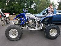 Yamaha yzf 450r racing quad