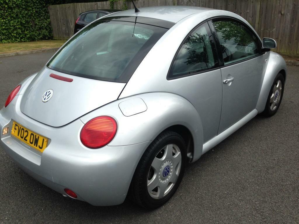 2002 vw beetle 1 8 turbo manual 3 door hatchback tax mot. Black Bedroom Furniture Sets. Home Design Ideas