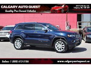 2017 Jeep Grand Cherokee Limited 4WD/NAVI/B.CAM/LEATHER/ROOF
