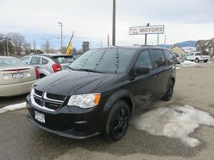 2014 Dodge Grand Caravan SXT - Captains chairs, rear air and hea