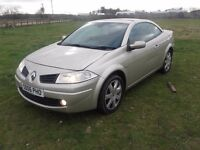 2006 Renault megane convertible great driving car in good condition inside and out £875 ono