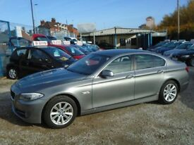 BMW 5 series, 2.0 diesel, 5 door, metallic grey, 2 keys
