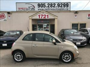 2012 Fiat 500 Pop, WE APPROVE ALL CREDIT