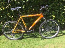 Aluminium lightweight 21speed gents bike