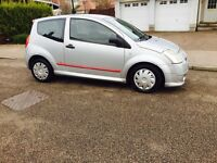 2006 Citroen C2 VTS 1.6 very long MOT 2017 ...No Advisory..Low miles Mint car ..£875