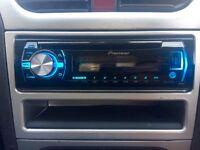 Pioneer DEH-X3500UI Headunit MP3/CD/AUX/USB (COLOUR CHANGING)