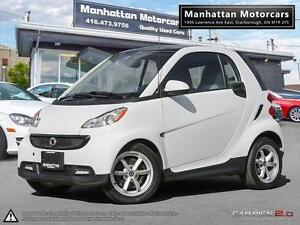 2014 SMART FORTWO PASSION - NAVIGATION PANORAMIC FAC WARRANTY