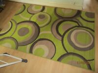 Large Rug For Sale (Green Circle Patern)