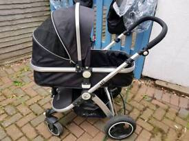 Isafe travel system with Isofix base