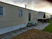 Caravan for hire / rent, Trecco Bay, Porthcawl