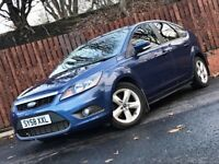 **LOW MILEAGE** DIESEL FORD FOCUS ZETEC 2009, 1.8TDCI LONG MOT
