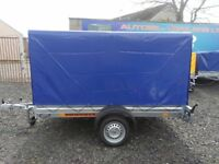 BRAND NEW BOX TRAILER 8X5 750KG SINGLE AXLE CAR TRAILER TIPPING TRAILER RAMP