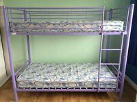 Kids Metal Bunk Bed