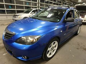 2004 Mazda MAZDA3 SPORT 5SPD!!! LOADED!!! HATCH!!! ALLOYS!!
