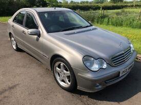 Nov 2004 Mercedes C-Class Facelift 200CDI CLASSIC SE 120bhp 6 speed FSH 1yrs Mot 3mth warranty