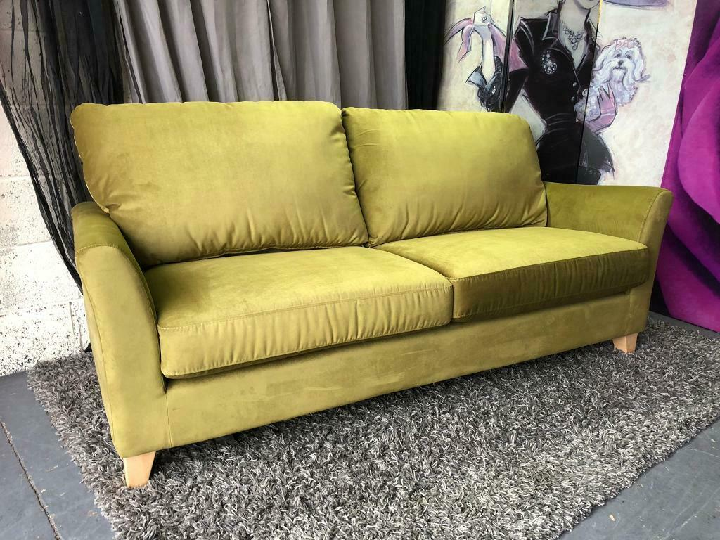 Superb Debenhams 3 Seater Amalfi Green Velvet Abbeville Sofa 280 In Stockport Manchester Gumtree Uwap Interior Chair Design Uwaporg