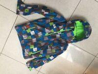 Boys (14) Quicksilver Ski Jacket & Matching Gloves