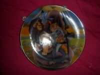 Lion King Display Picture Plate