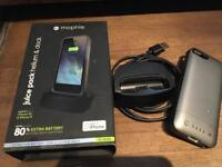 Mophie battery pack for iPhone 5 and 5s with dock
