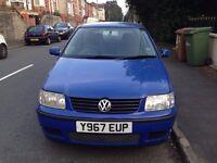 2001 Volkswagen Polo 1.0 12 months MOT