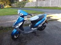 i have for sale a, Pulse 50 cc, scooter, good condition,low miles, good tyres.