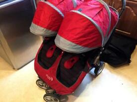 City Stroller Double Pushchair