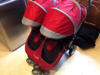 City Stroller Double Pushchair