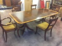 Stunning Harrods Dining Table with optional attachment