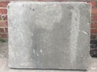 4 Paving slabs