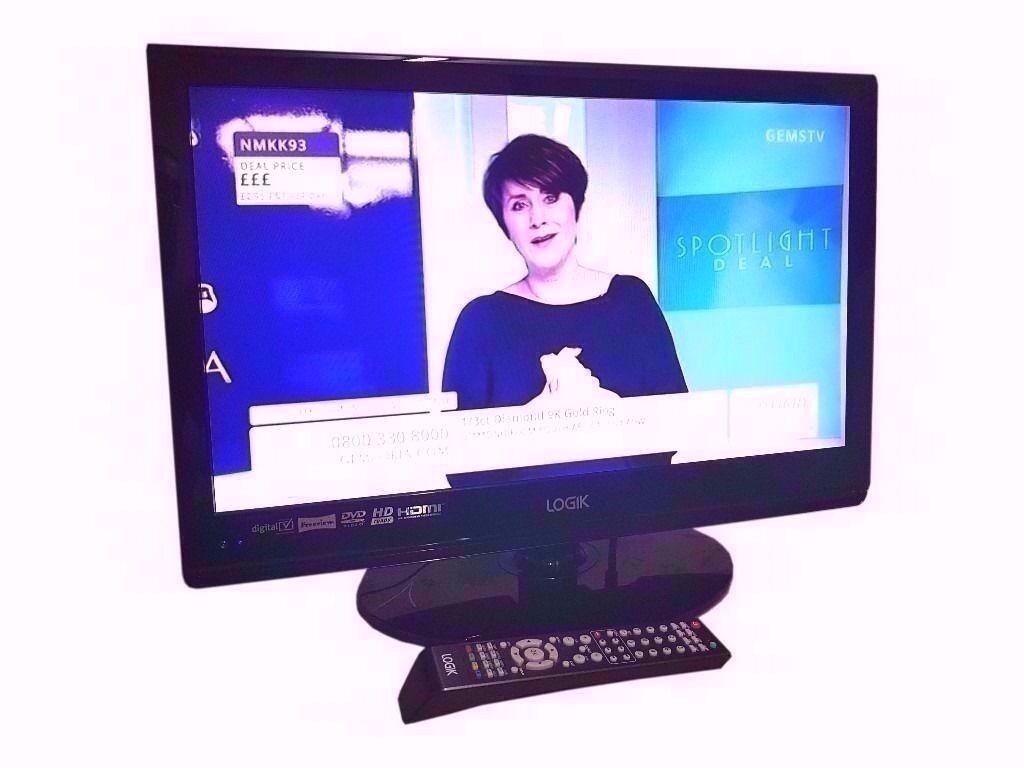 "Logik 22 TV ""1080P FULL HD DVD, SCART, USB LCD TV"