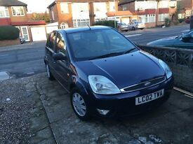 Ford fiesta 2002 good condition