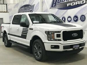 2018 Ford F-150 SuperCrew XLT Sport Special Edition 302A 3.5L Ec
