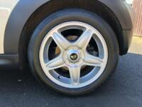 """Mini R56 16"""" alloy wheels and tyres."""
