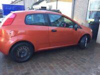 Fiat Punto 1.2, 70k miles 06 plate