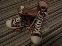 Monster high roller boots