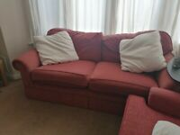 2/3 Seater Sofa - Terracotta Colour