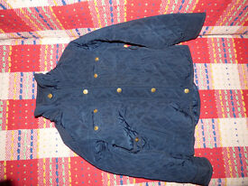 Zara quilted Jacket for Girl 5-6 years. Navy. Good for school. Very good condition!