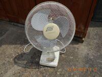 12 inch Oscillatin Desk Fan