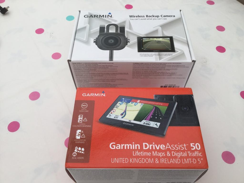 Garmin drive assist 50 plus wireless back up camera