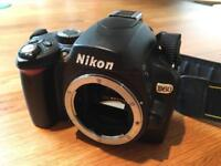 Excellent Nikon DSLR and lenses - lenses good enough for safari or professional photography