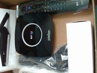 B T tv box brand new
