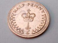 1971-1982 UK GB DECIMAL OLD HALF PENNY PENCE COINS