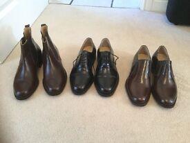 Men's Handmade Samuel Windsor Shoes Size 8 1/2