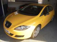 SEAT LEON 1.9 TDI Ecomotive (yellow) 2009