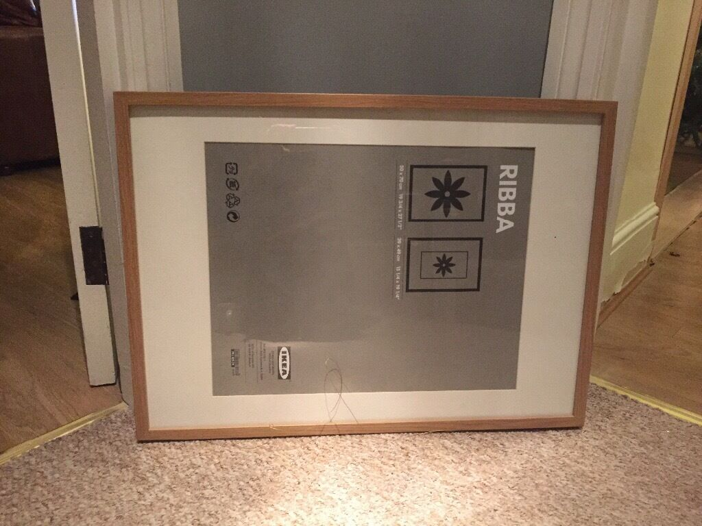 Ikea ribba frame large in enfield london gumtree for Ikea ribba weiay