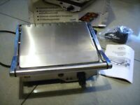 Electric Griddle/Hot Plate, BBQ tray, Catering Grill, Melt Health Grilling Machine used once.