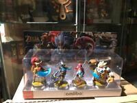 Zelda amiibo/the-champions-amiibo-set