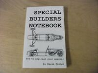 special/ kit car/ builders notebook by Derek Fisher