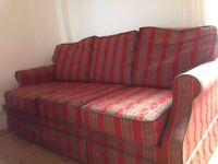 Sofa convertible into double bed